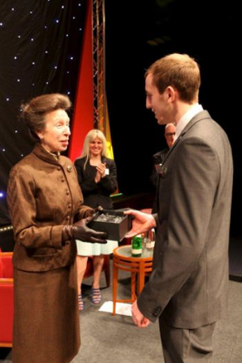 Renishaw apprentice gets Royal approval