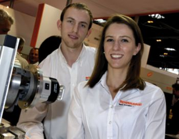 Renishaw apprentices an inspiration