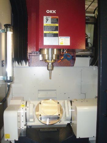 2D CNC introduces 5-axis OKK VMC - Machinery Market News