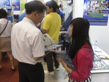 Very busy first day at MTA Vietnam 2012