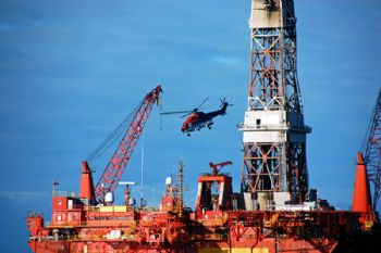Oil rig decommissioning process / Best indicators for day