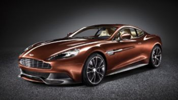 Aston Martin unveils Vanquish super-car