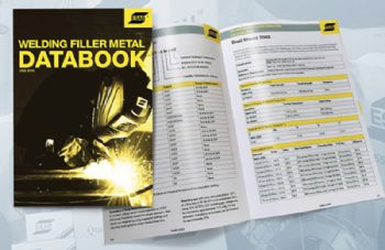 Download the Esab Filler Metal Data Book