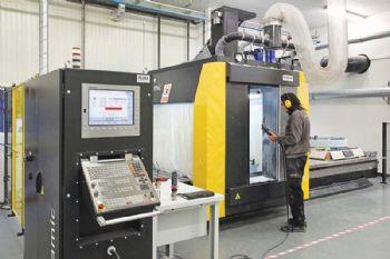 5-axis machining at Lentus Composites
