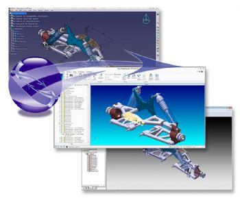 Creo to Catia Multi-CAD supports R2016x