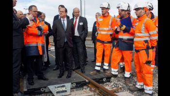 New LGV SEA high-speed line inaugurated