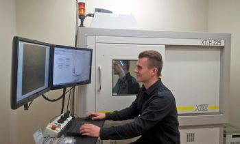 CT inspection equipment checks implants
