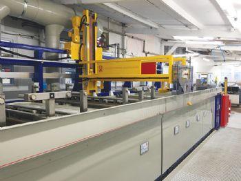 Aluminium anodising line for GSM