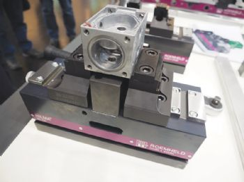 Five-axis vice offers stability and precision