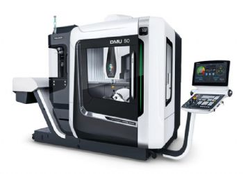 Five-axis machine offers 78% more capacity