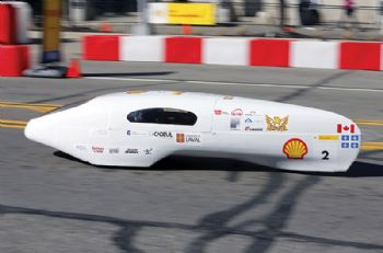 Students' car achieves equivalent of 2,713.1mpg
