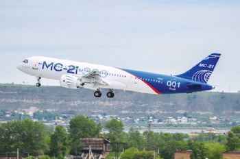 Russian MC-21 jet makes first flight