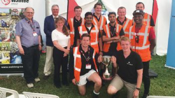 IMechE Railway Challenge champions
