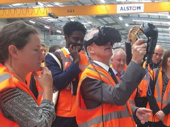 Alstom opens UK refurbishment facility
