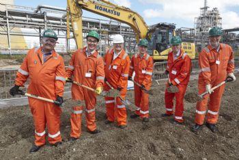 Wood chip factory underway in Hull