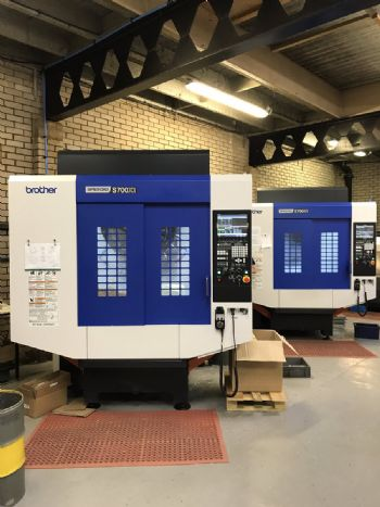Five-axis machining centre investment