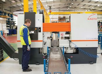 Bandsawing bonanza at Langley Alloys