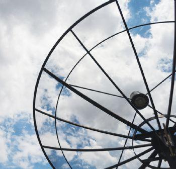 Satellite-tracking station in Glasgow