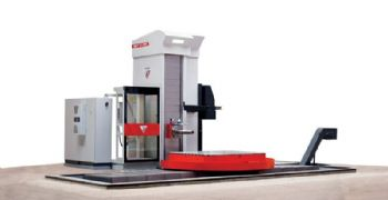 New high-powered horizontal boring mill