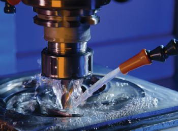 Cutting fluid suits high-flow grinding application