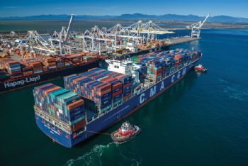 Shore-to-ship power supply for Canada's port
