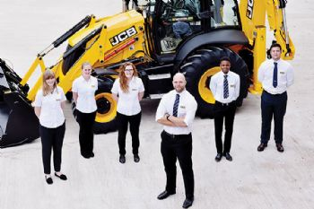 JCB digs deep to fund Young Talent initiative
