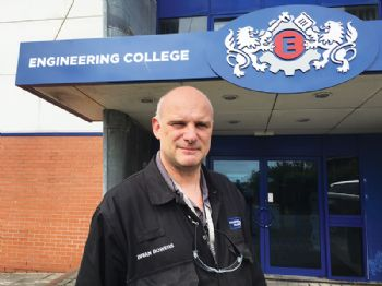 Welding specialist joins Engineering College