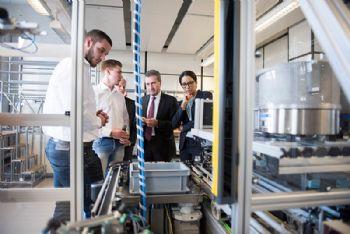 Start of training year at Siemens