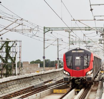 Alstom inaugurates metro project in India
