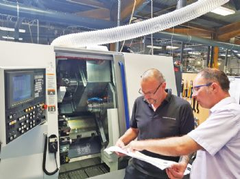 Lean manufacturing at Roscomac
