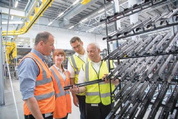 Brose UK opens new paint plant in Coventry