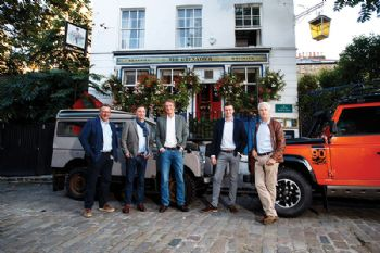 Ineos off-roader enters next phase