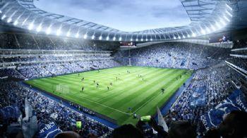Retractable pitch for Tottenham Hotspur