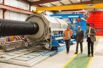 Multi-million-pound factory extension opens