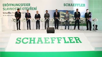 Schaeffler opens plant in Czech Republic