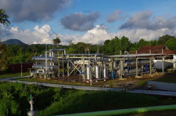 Low-temperature geothermal plant commissioned