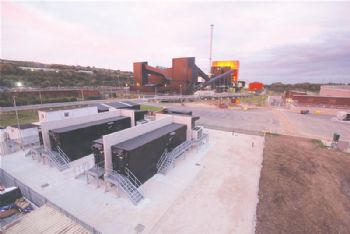 Battery installation at biomass plant completed