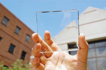 Transparent solar technology opportunity