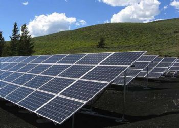 La Fossette solar-power plant