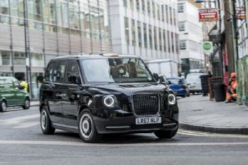Zero-emission iconic black cabs hit the streets