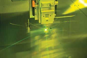 New fibre laser cutting machine