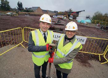 Construction begins on  'clean transport lab'