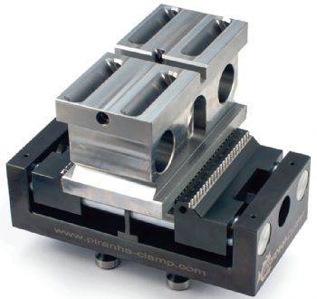 High-pressure clamping with a Piranha vice