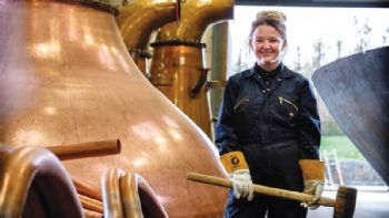 First-ever female coppersmith apprentice
