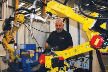 Sertec invests in new robot welding cell