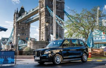 Hail the all-new electric London taxi