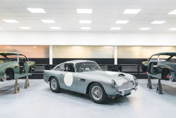 Aston Martin production returns to Newport Pagnell