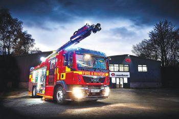 Fire engine manufacturer wins £1 million deal