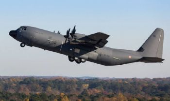 First C-130J Super Hercules for France