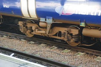 Search for lighter, more durable rail bogies